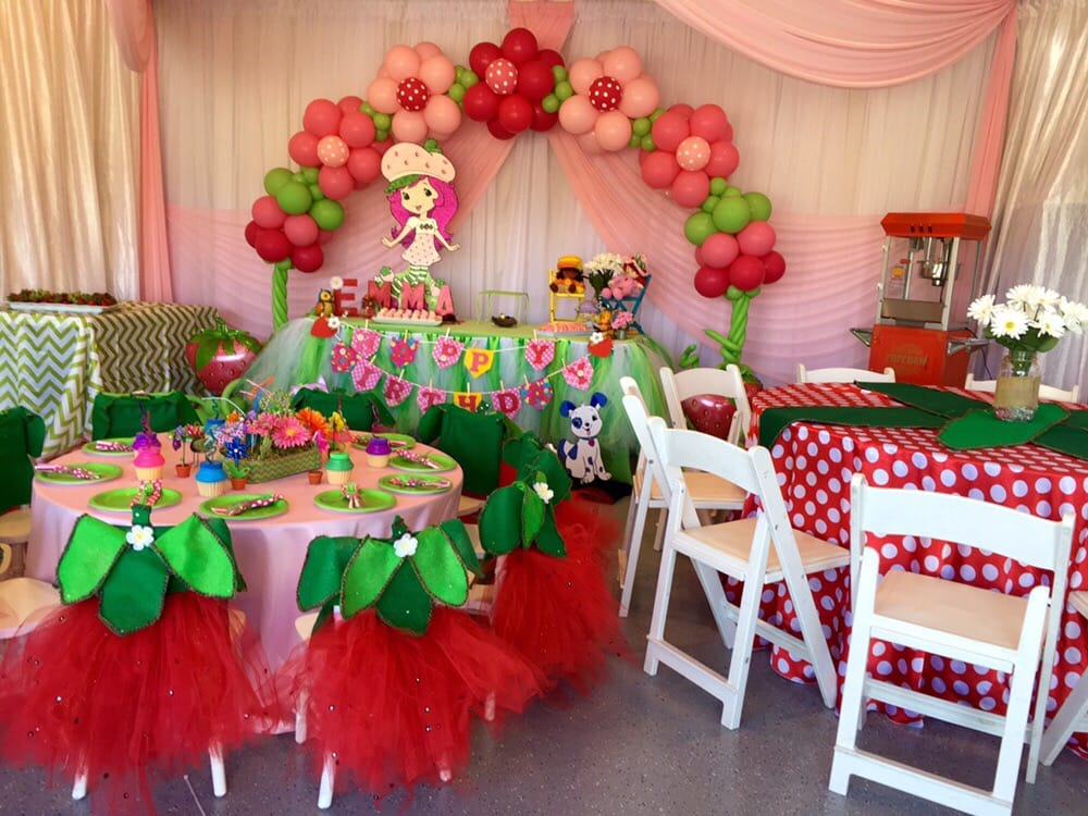 Photo of Pro Prep Events - Morgan Hill CA United States. Strawberry shortcake & Strawberry shortcake theme party. - Yelp