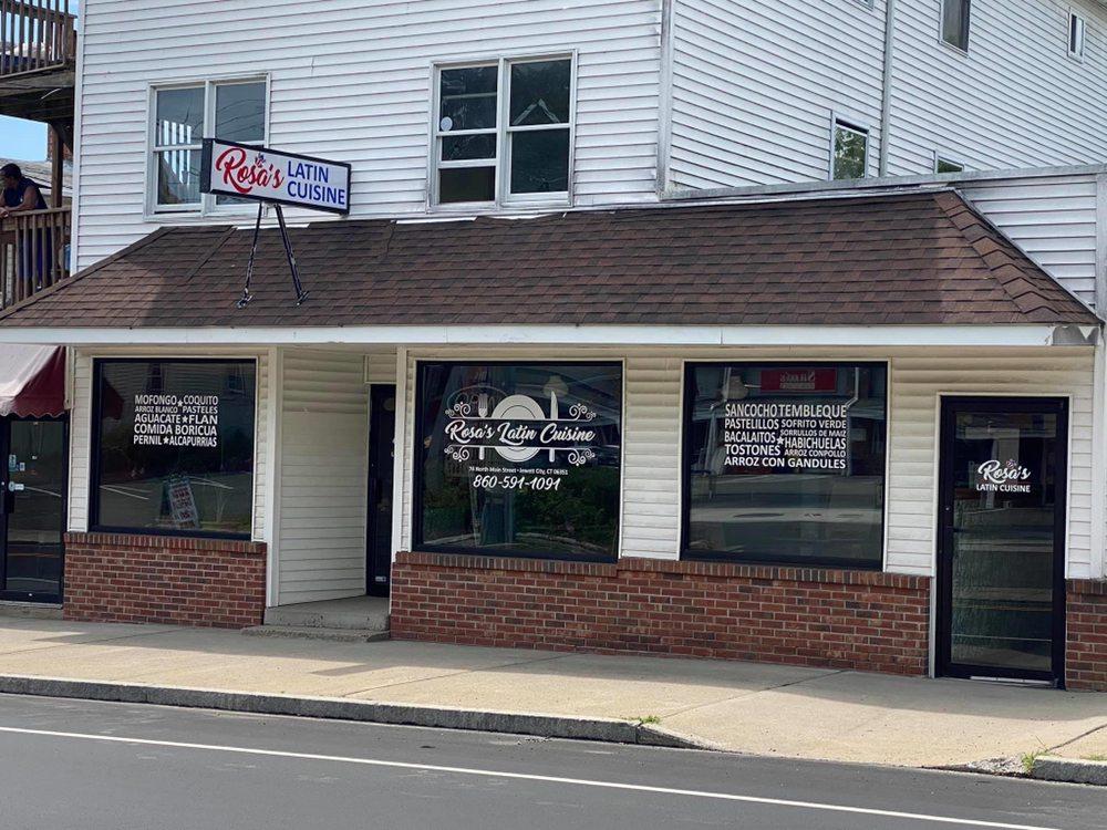 Rosa's Latin Cuisine: 74 N Main St, Jewett City, CT