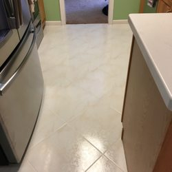 Photo Of Kc Tile Restoration Boynton Beach Fl United States Kitchen After