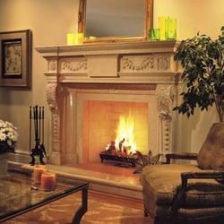 Tartaruga design fireplace mantel