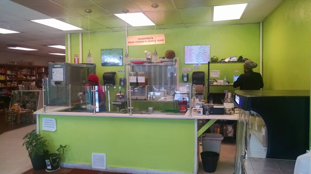 KHEPRAS RAW FOOD JUICE BAR GROUPON
