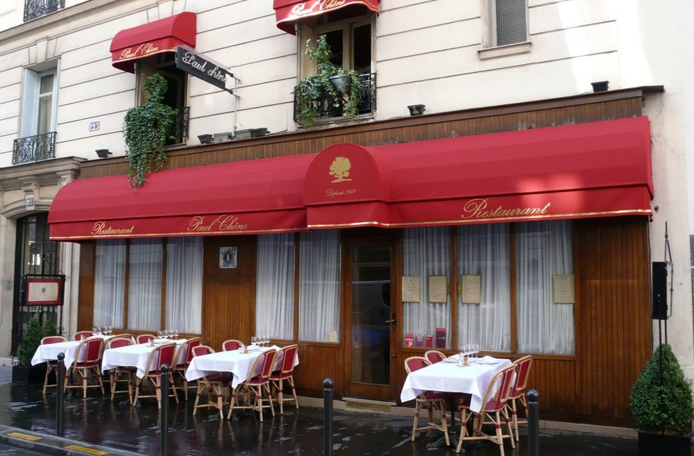 Paul Chene Restaurant Paris