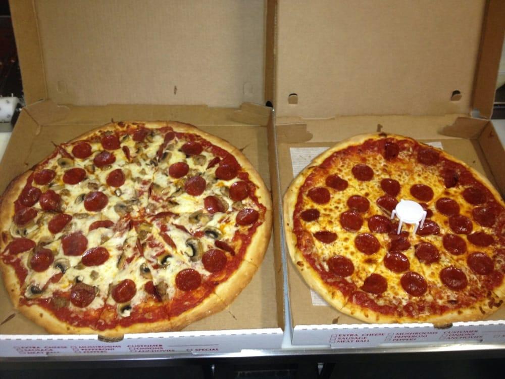 Hometown Pizzeria: 4 W Church St, Adams, NY