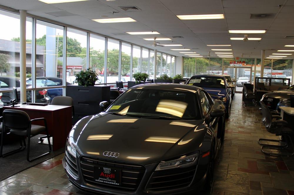 Herb Chambers Audi >> Audi Brookline Yelp