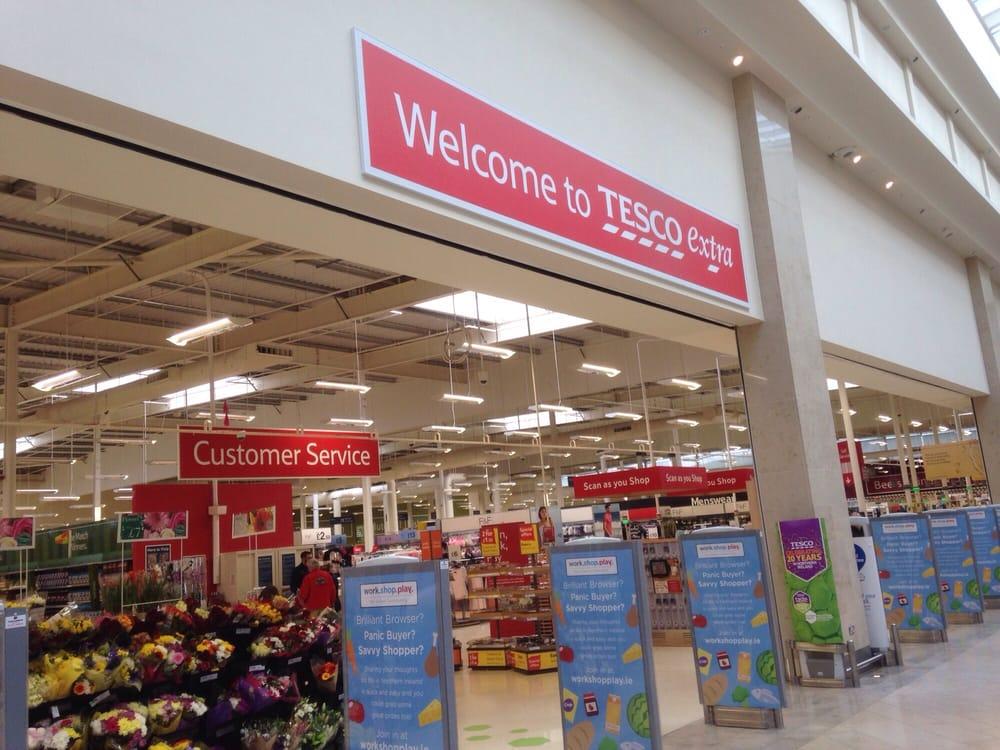 Tesco extra supermarkt lebensmittel ballyclare road