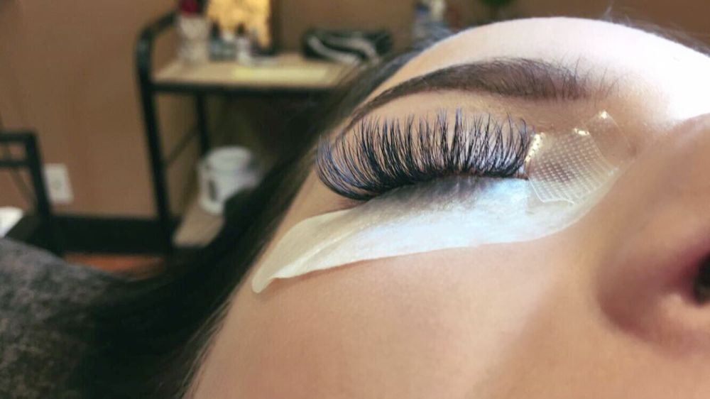Full Set Volume Lashes Fluffiness Is Key To Volume These Ones I