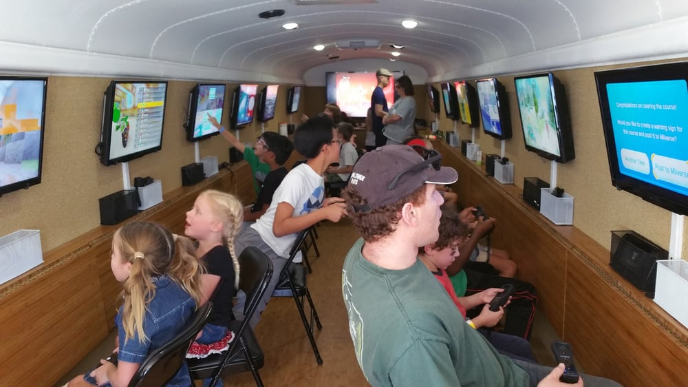 The Ultimate Video Game Bus: 11684 Ventura Blvd, Studio City, CA