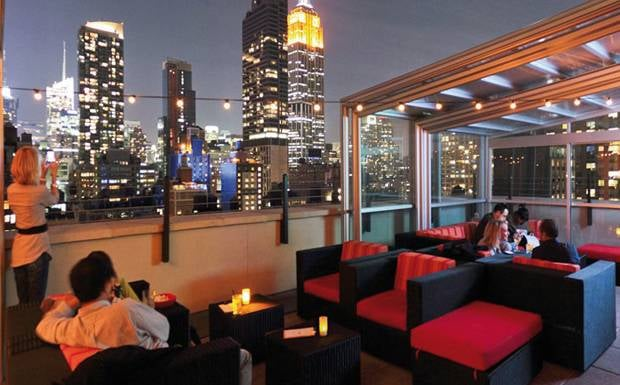 Photos for rare view rooftop chelsea yelp for Tablet hotels nyc