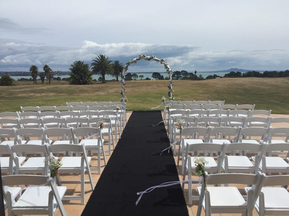Photo Of Formosa Golf Resort Auckland New Zealand Wedding Ceremony