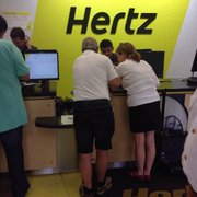 Walking Photo Of Hertz Rent A Car   Cape Canaveral, FL, United States.