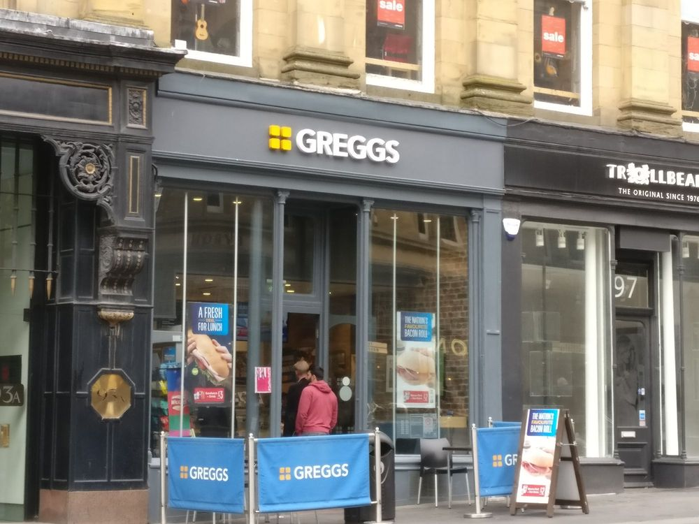 Greggs Bakeries 24 32 Northumberland Street Newcastle Tyne And