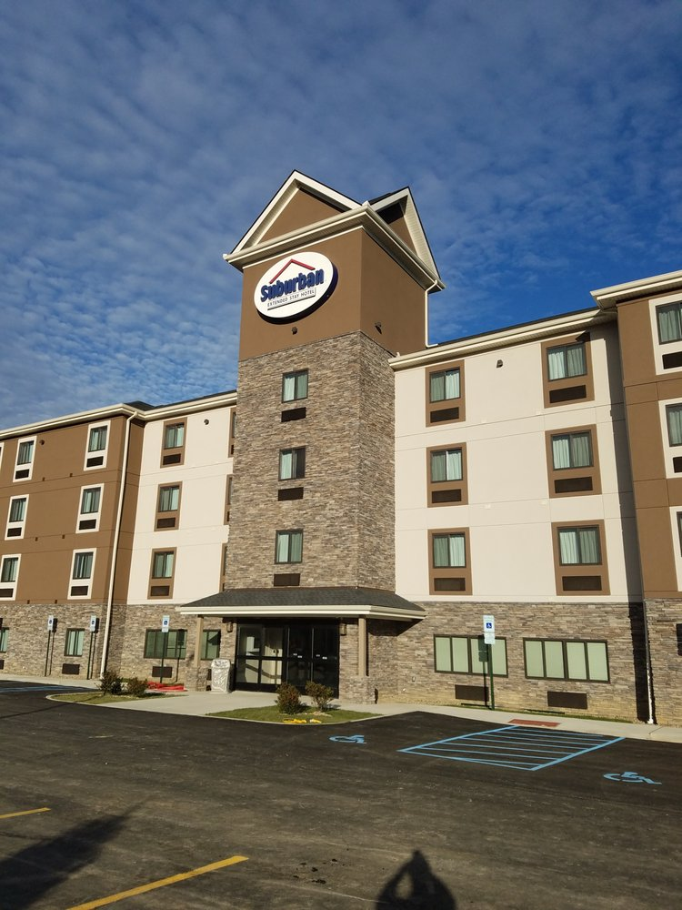 Suburban Extended Stay Hotel: 1529 Old Brodhead Rd, Monaca, PA