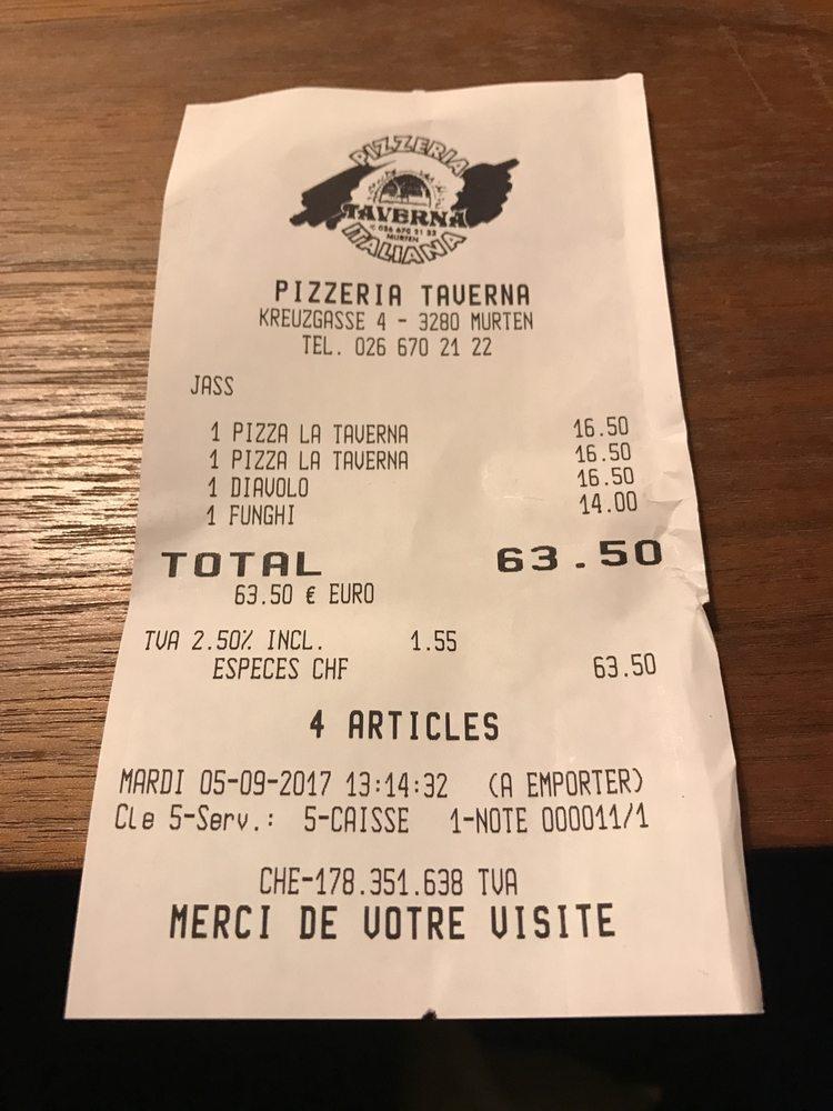 Ristorante Pizzeria Taverna Italiana - Murten