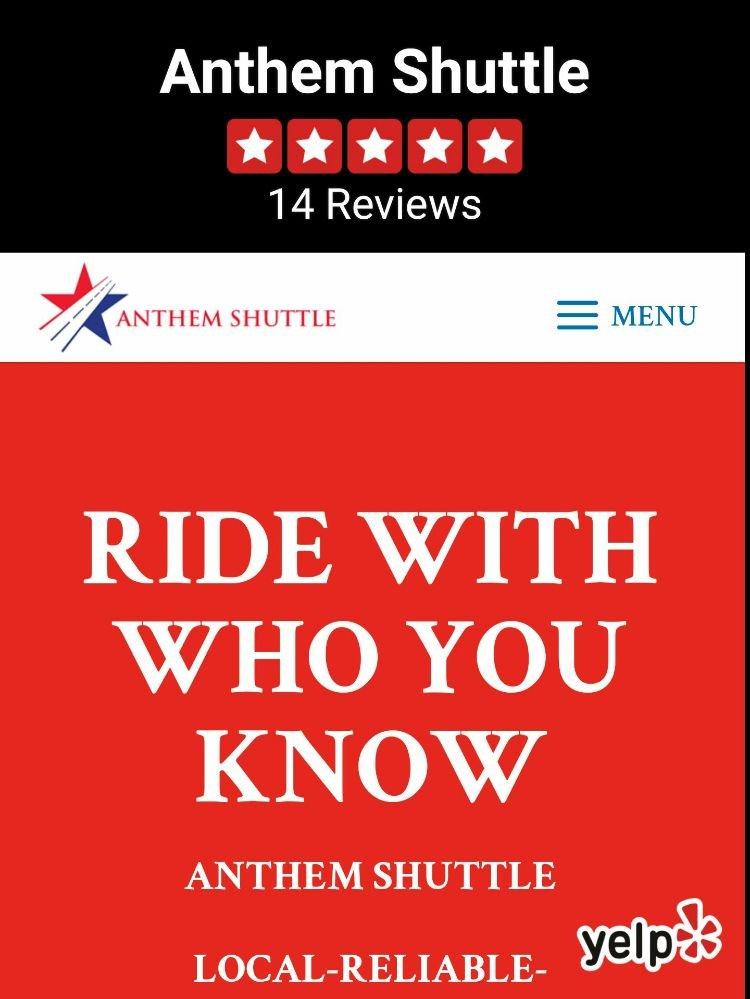 Anthem Shuttle: Anthem, AZ