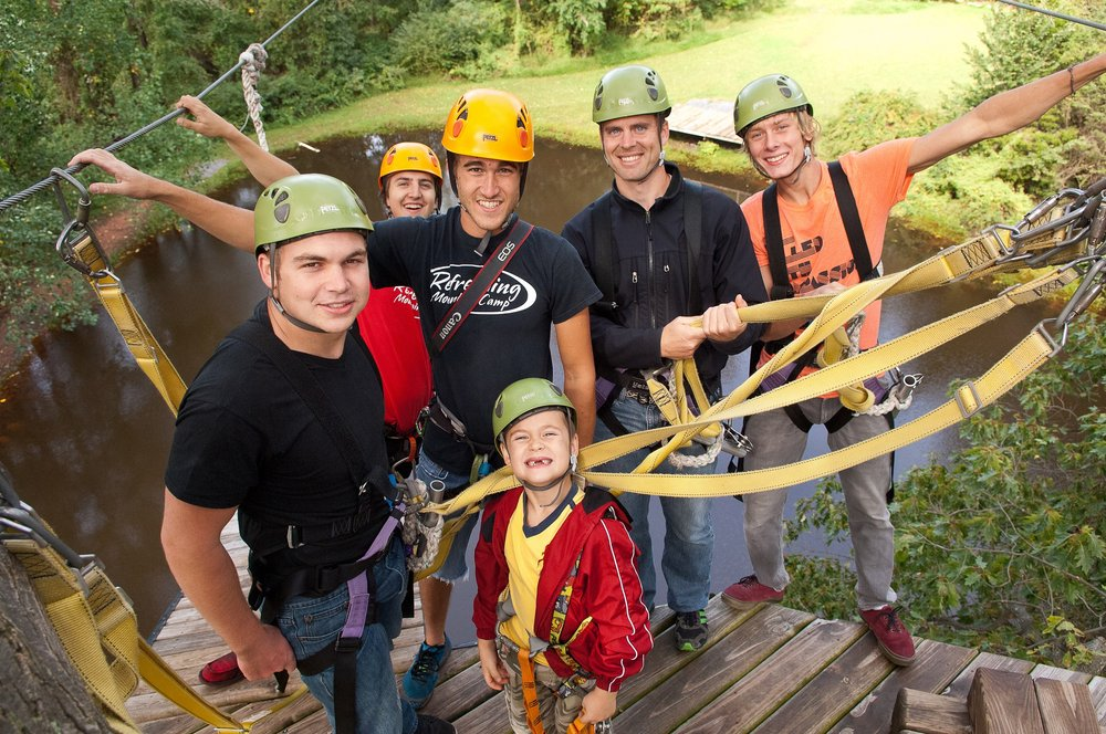 Refreshing Mountain Retreat and Adventure Center: 455 Camp Rd, Stevens, PA