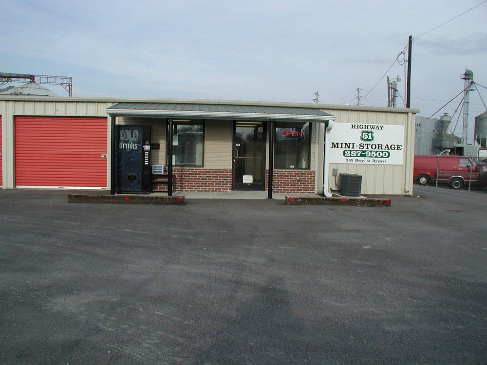 51 Mini Storage & Uhaul: 295 Hwy 51 Bypass S, Dyersburg, TN