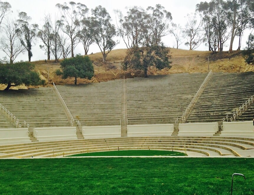 Occidental College Amphitheater Stairs Major Butt Workout Hehe Yelp