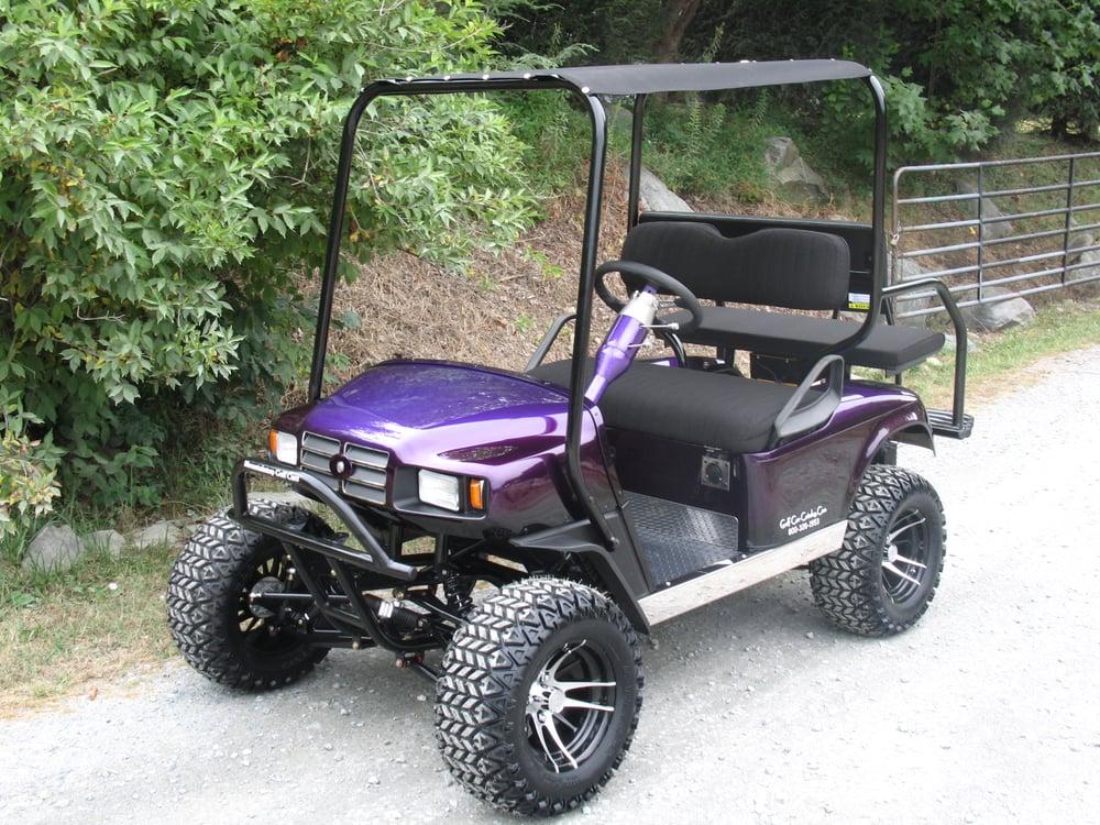 photo of mountaintop golf cars banner elk nc united states custom ezgo