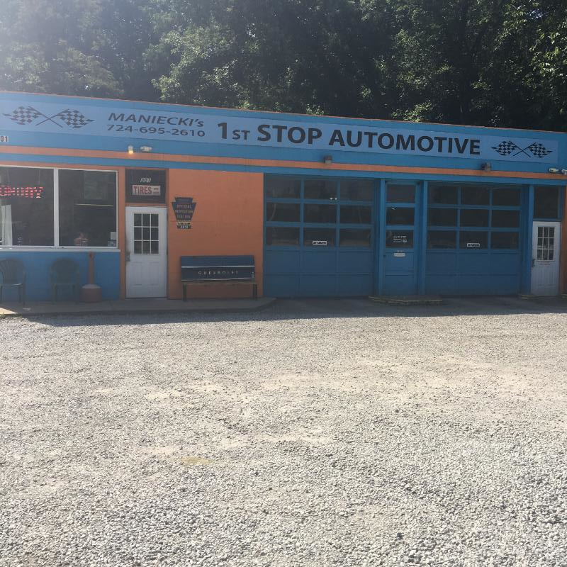Maniecki First Stop Auto: 301 West Allegheny Rd, Imperial, PA
