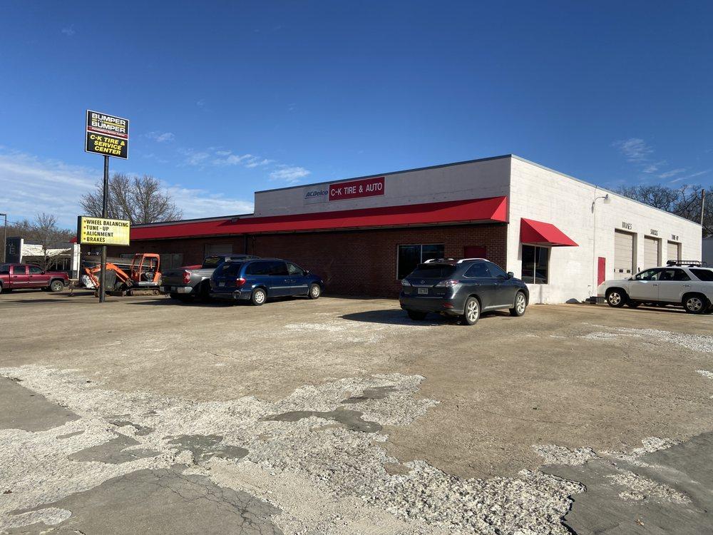 C-K Tire & Service Center: 3222 S School Ave, Fayetteville, AR