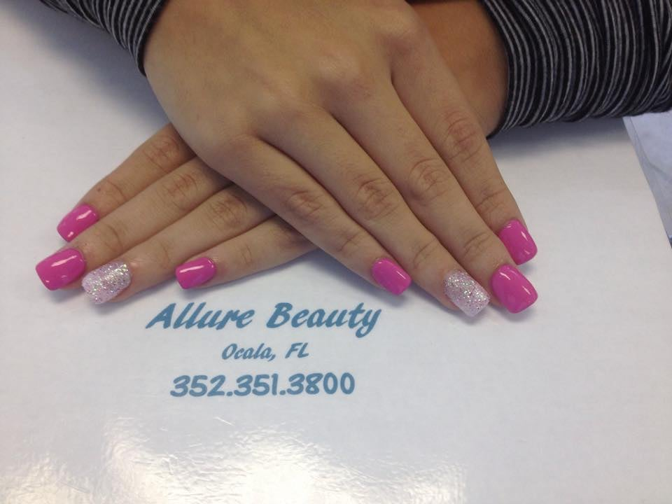 Fill with shellac gel polish yelp for Allure hair salon