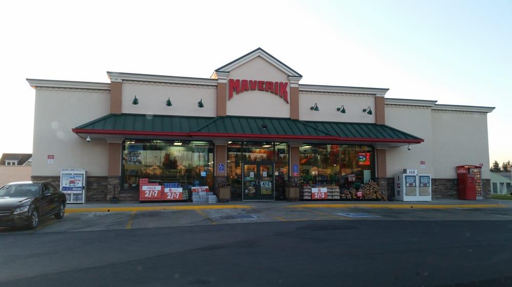 Maverik Gas Station: 2827 First St, Cheney, WA