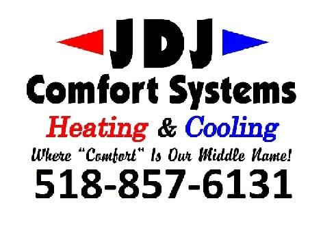 JDJ COMFORT SYSTEMS: 398 Anthony St, Schenectady, NY