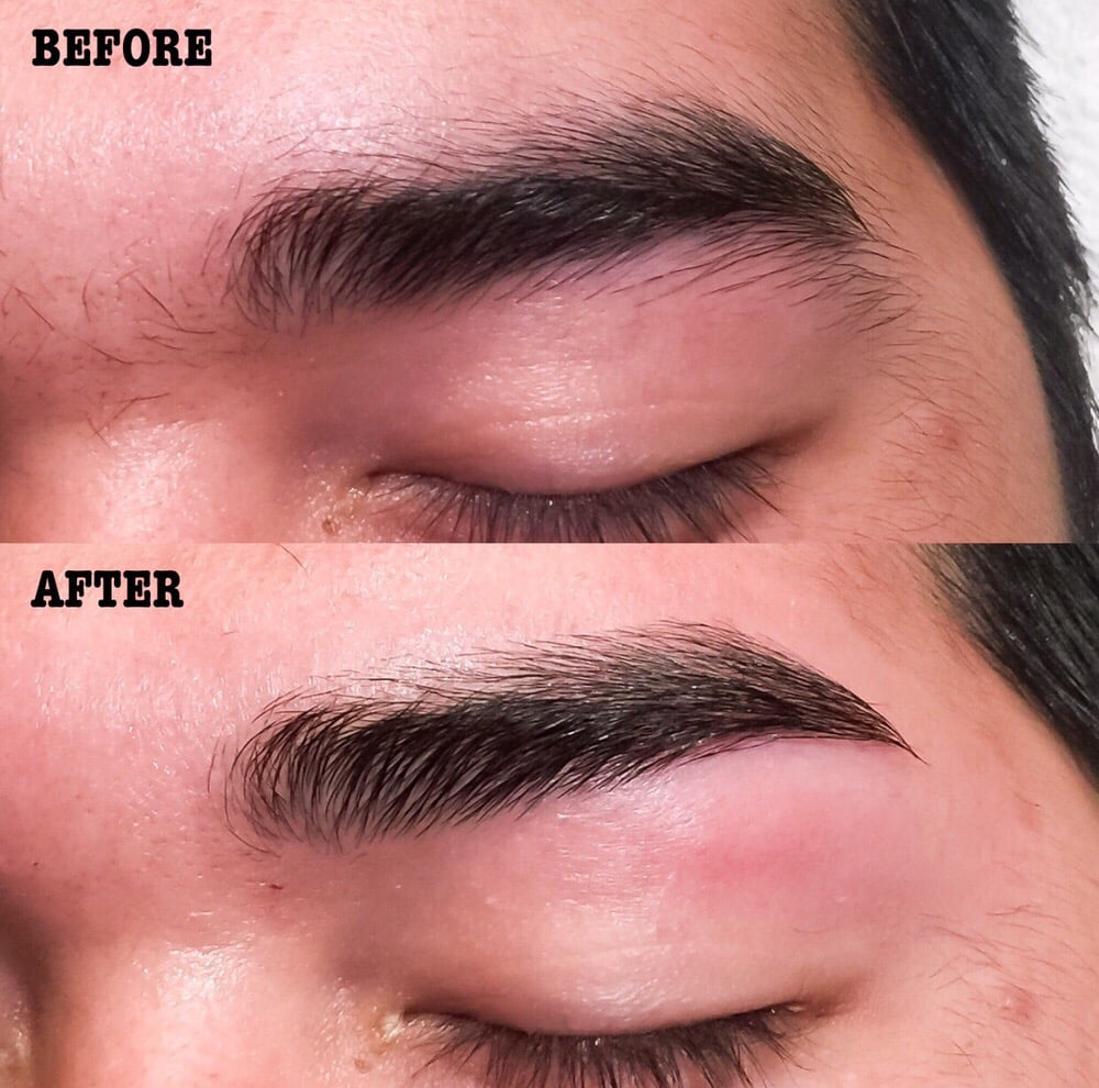 Recently Weve Been Doing A Lot Of Eyebrow Waxing For Men With