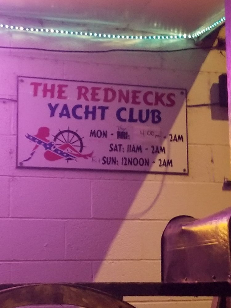 The Redneck Yacht Club: 115 Dunn Rd, Fayetteville, NC