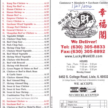 Chinese Food Morris Il Menu