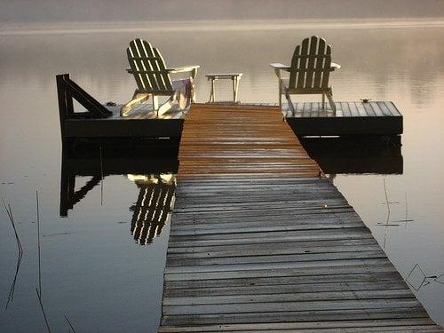 Adirondacks Chairs On The Dock Yelp