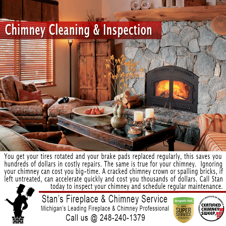 Stan's Fireplace & Chimney Service: Fenton, MI