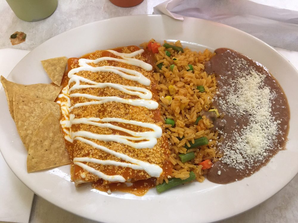 Food from Chilito's Mexican Restaurant