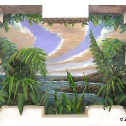 Photo Of Edwin K. Leishman Art   Las Vegas, NV, United States. Jungle Dream  Wall ... Part 80