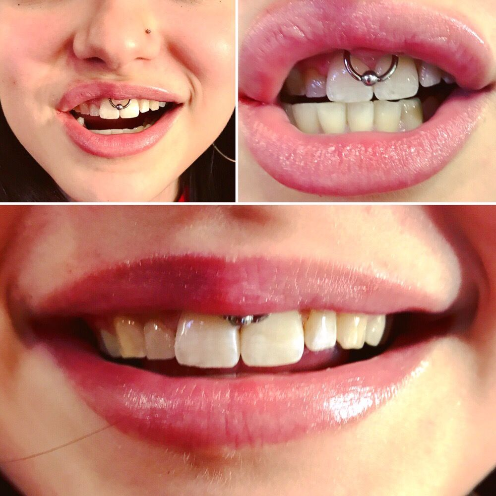 Smiley Piercing By Jenny Yelp