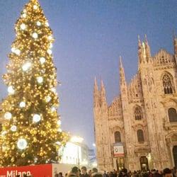 Albero Di Natale Milan.Albero Di Natale In Piazza Duomo 12 Photos Christmas Trees