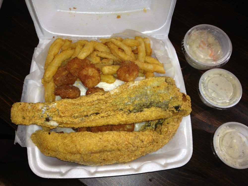 Lake trout and shrimp yelp for Hiphop fish chicken baltimore md
