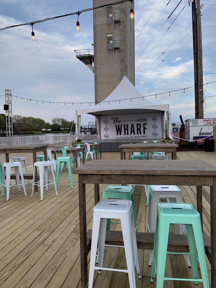 The Wharf: 606 Quay St, Manitowoc, WI