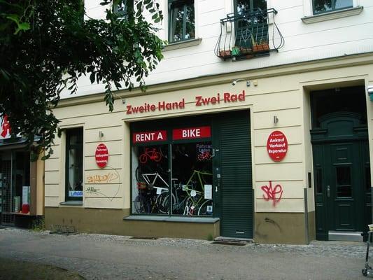 Zweite Hand Zweirad  Půjčovny kol  Urbanstr 137 a