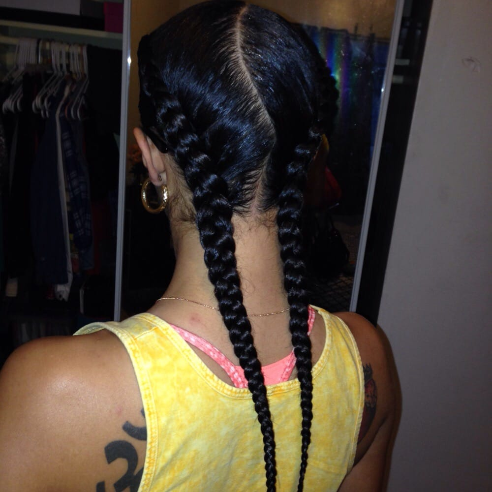 French Braids With Hair Added Beautiful And Fast Yelp