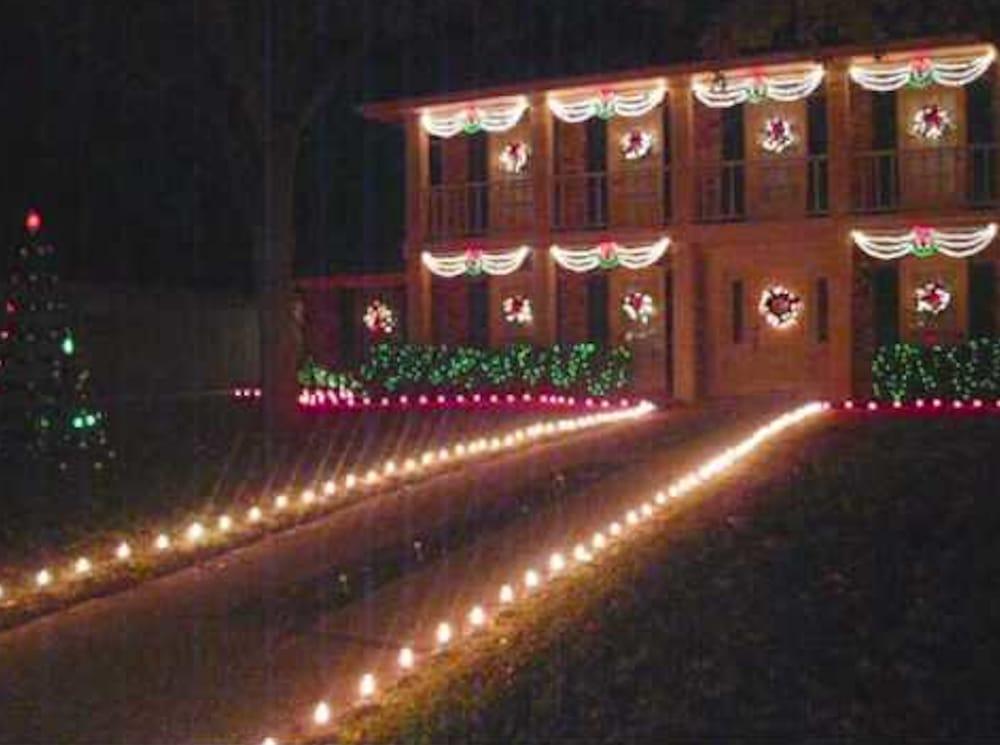 angel city holiday light installation closed 14 photos