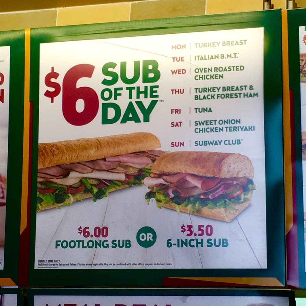 subway canada sub of the day 2019