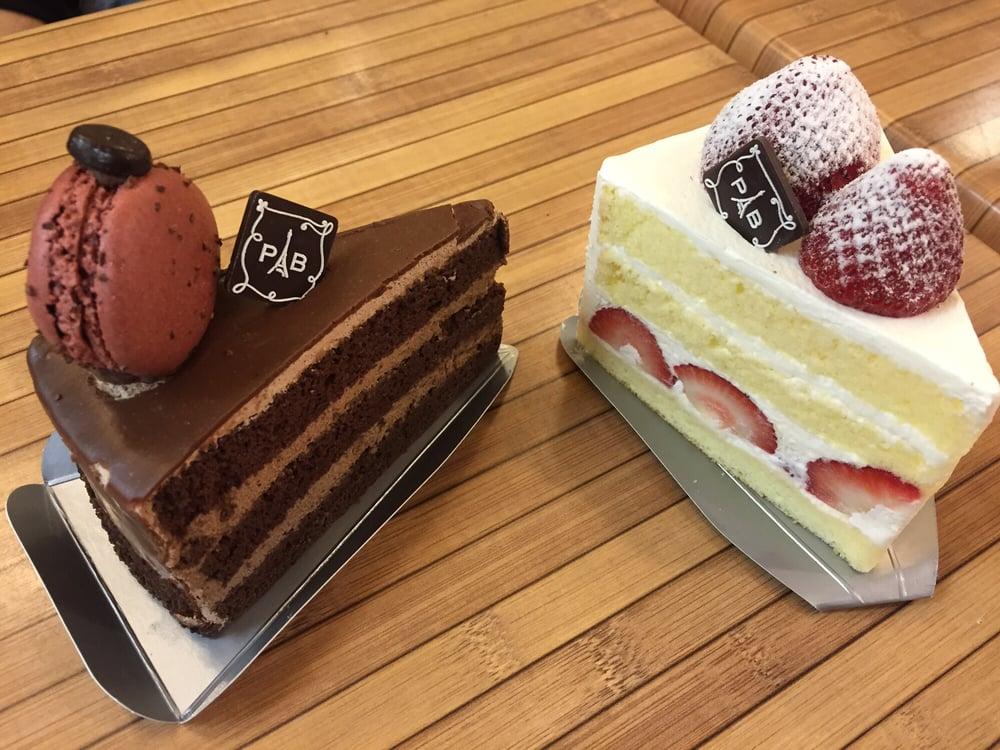 paris baguette cake chocolate ganache and strawberry fresh cake just a 6378