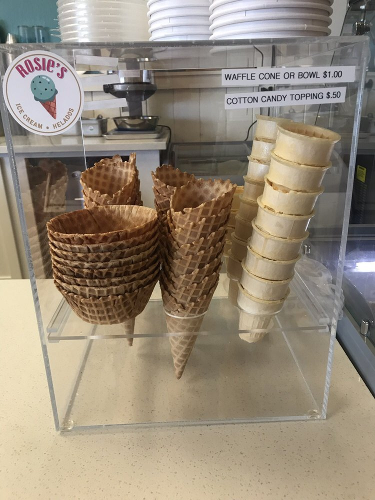 Rosie's Ice Cream: 8059 San Miguel Canyon Rd, Prunedale, CA