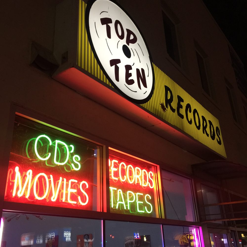 Top-Ten Record Shop