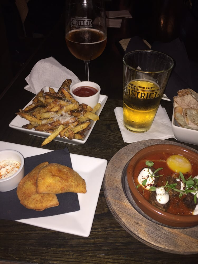 Lamb Meatballs Crab Empanadas And Duck Fat Fries For The