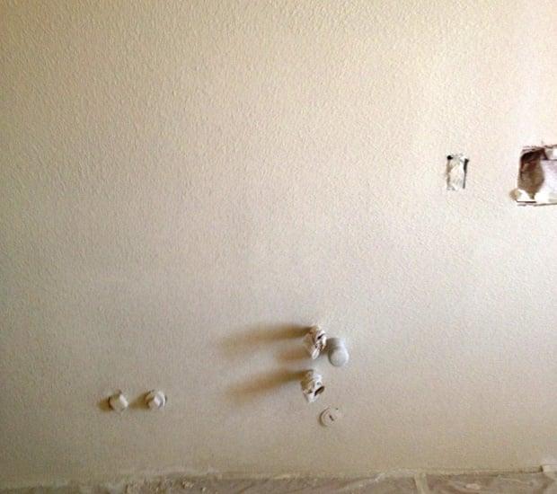repairing drywall texture matching