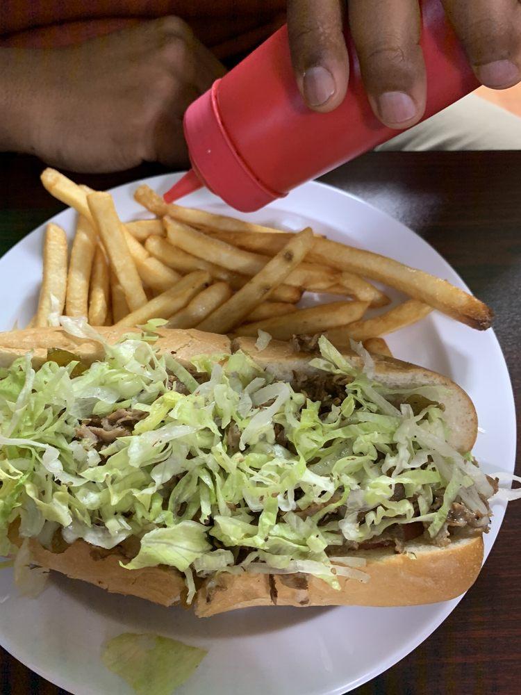Pj's Steak & Hoagie Shack: 114 E Main St, New Holland, PA