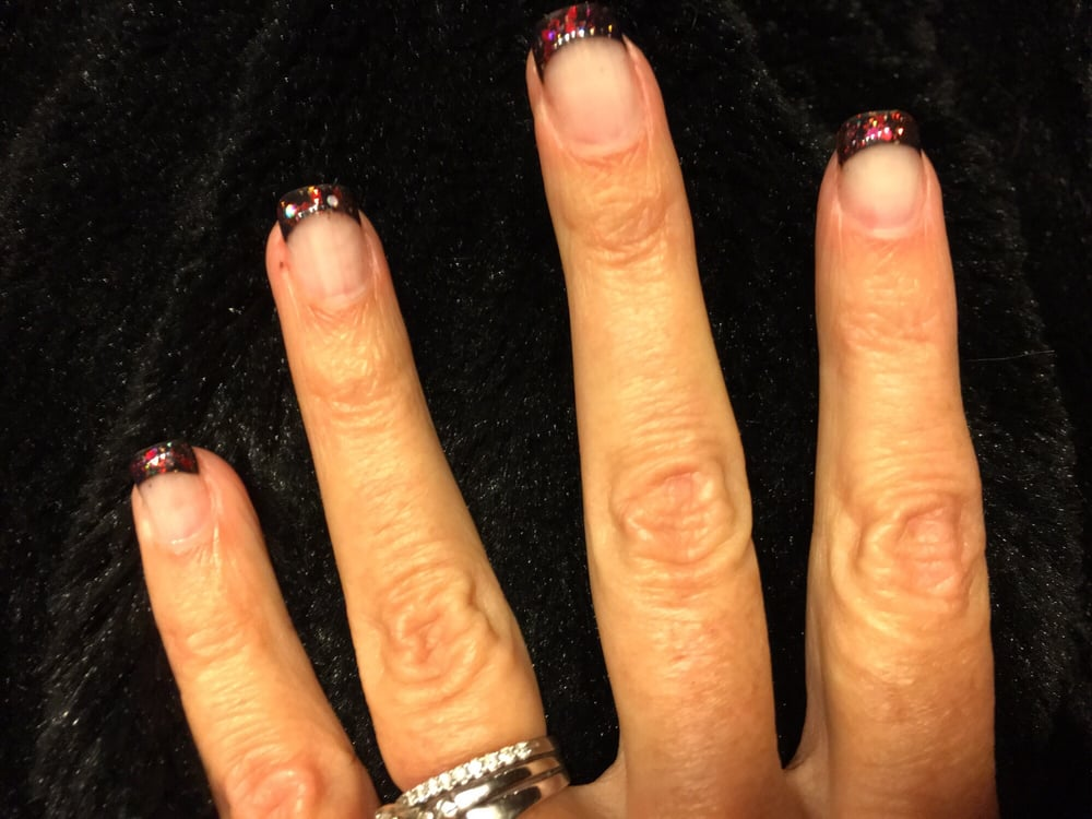 photo of nails spa redding ca united states fun christmas colored