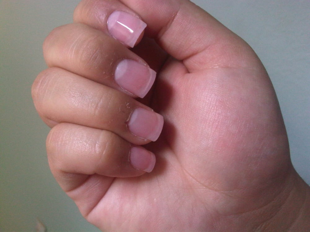 Pink Powder + Gel on top - Yelp